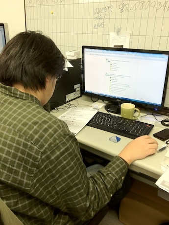 大学生であれば誰でもウェブサイトからアンケートに答えることができる