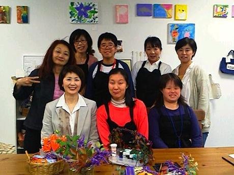 就労サポートプロジェクト「スイミー」のメンバー