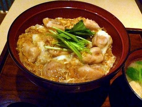 妙蓮寺「鴨屋そば香」の親子丼