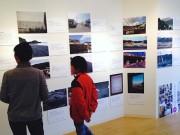 あざみ野のカフェで「フォトボイス展」-写真と声で被災地伝える