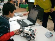 都筑・中川で教育版レゴ使った親子ロボットプログラミング開発体験