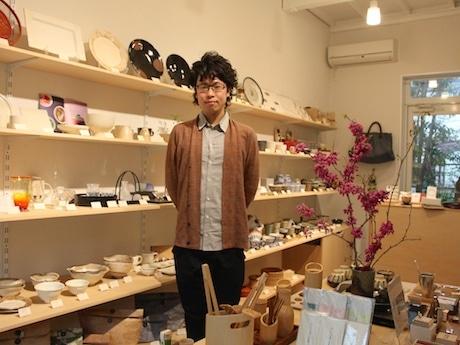 「まほろ」店主の清野陽平さん