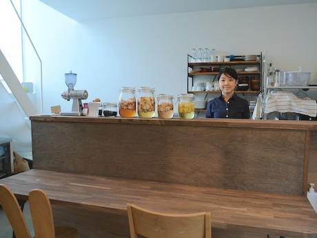 「Pukutto食堂」を運営する坂口萌さん