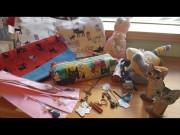 綱島で「ねこ展」 猫モチーフにした手作り作品120点集まる