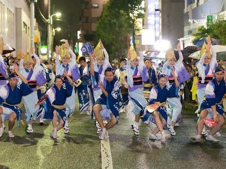 湘南・藤沢エリアの阿波おどりグループ「湘南なぎさ連」を迎える