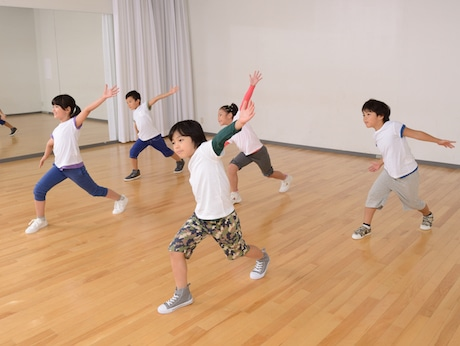 ヤマハユニスタイルトレッサ横浜のキッズダンスも