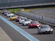 アルファロメオ4C試乗も スポーツドライビングジャパンがサーキットで安全運転レッスン