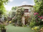 あざみ野うかい亭、バラの咲く庭園で料理提供するサービス