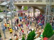 中川駅前でふれあいフェスタ 模擬店やステージイベント、ハンギングバスケットコンテストも