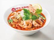 十日市場の「太陽のトマト麺」で春季限定の「香ばし鰹のペスカトーレトマト麺」