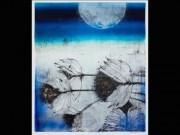 「木のリトグラフ」作家・澤岡泰子さんの作品展 横浜・寺家で