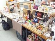 綱島で手作り雑貨マーケット ギャラリーショップが出張イベント