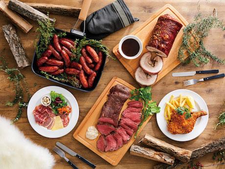 ジビエなどの限定肉料理を提供