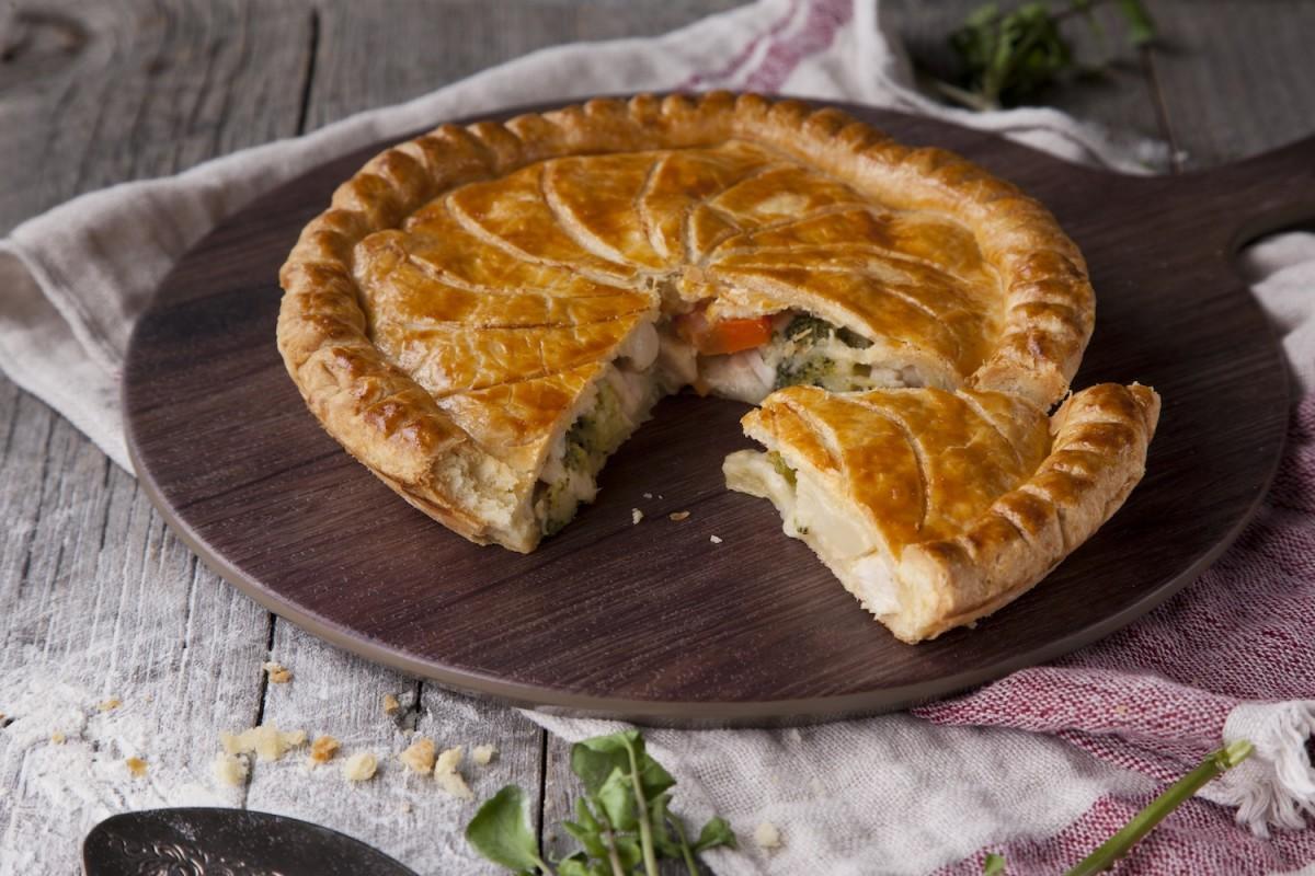 各店のパイが楽しめる。写真は「Pie Holic」