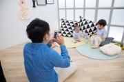 たまプラに自分で撮影できる親子向けフォトスペース「スタジオノハナ」オープン
