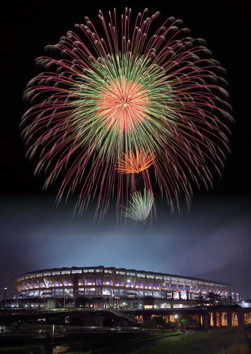 新横浜花火大会のイメージ