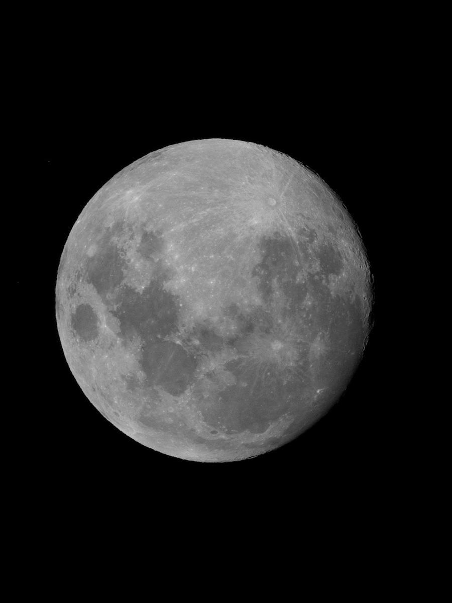 月や火星などの天体を観測する