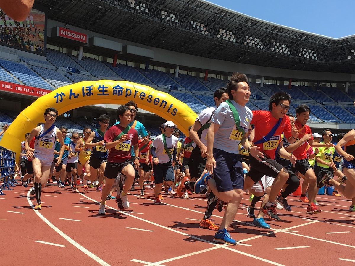 即席の男女混合チームで5時間耐久リレーマラソンに挑戦する