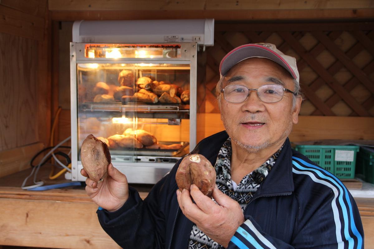 5月まで直売所で安納芋が買える