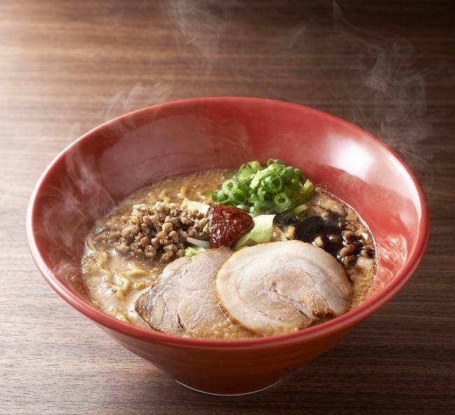 冬季限定麺の「味噌赤丸」