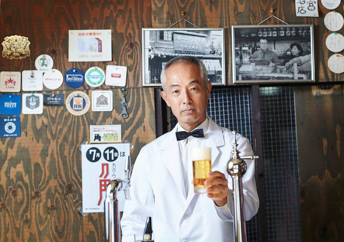「ビールスタンド重富」の重富寛さんを招く