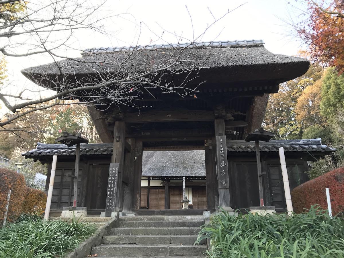 港北区内の各寺で七福神が祭られている。写真は恵比寿大神を祭る西方寺