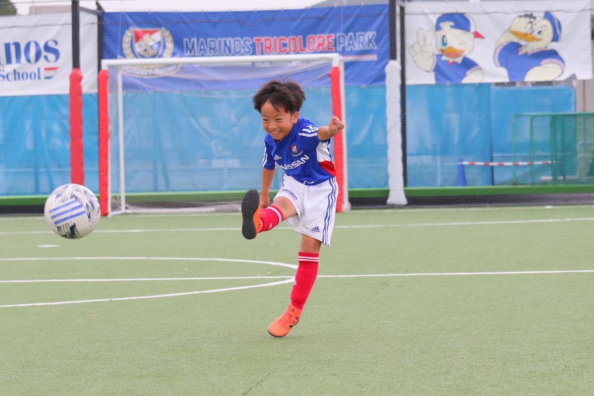 子ども向けのサッカー教室も開校してきた©y.F.m