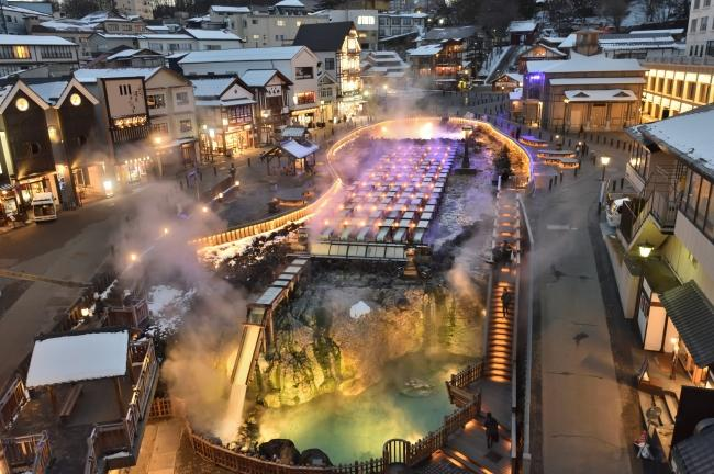 草津温泉へ直行する