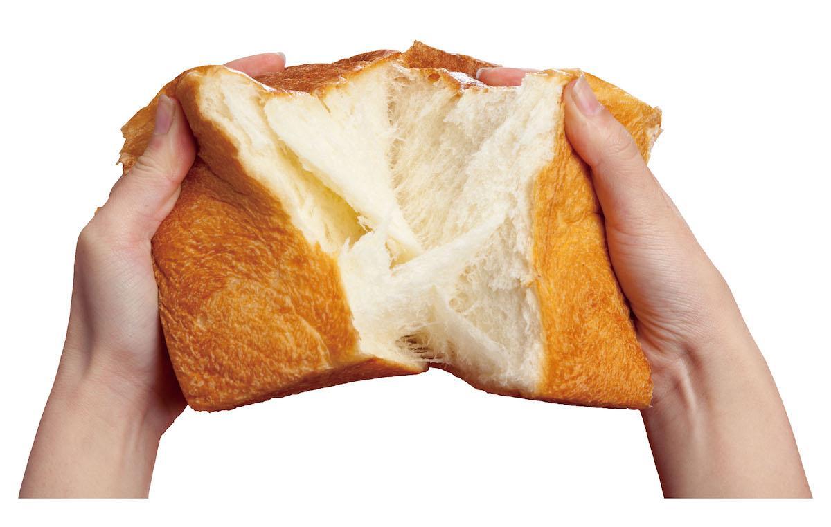 口どけなめらかな食パンを販売する