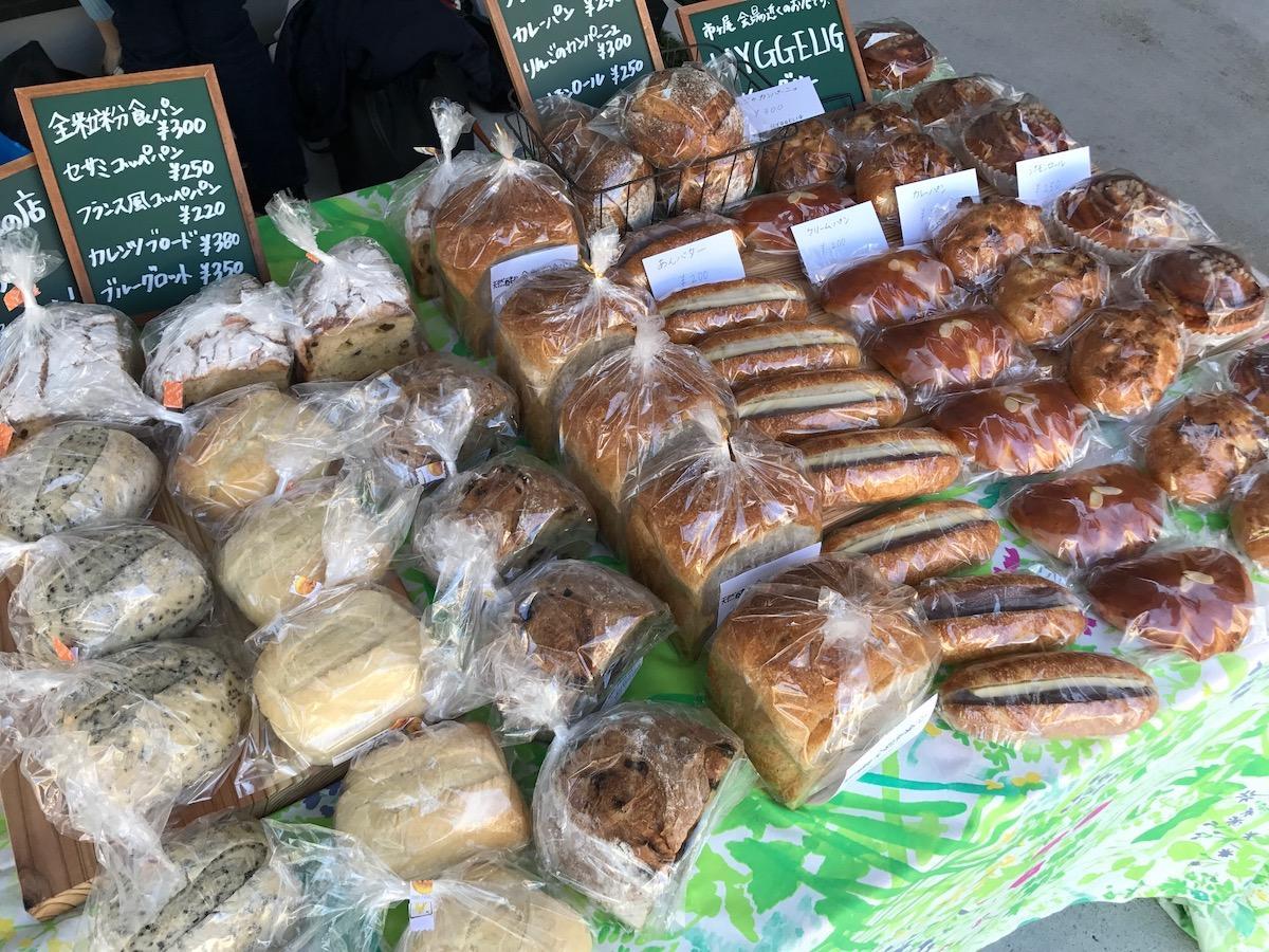 地域のパンが楽しめる「あおばパンマルシェ」も行われる