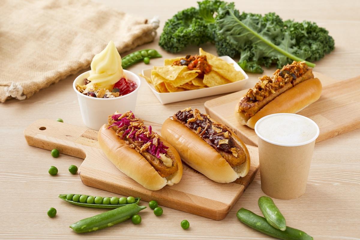 新しいプラントベースフード(植物性食品)のメニューが登場する