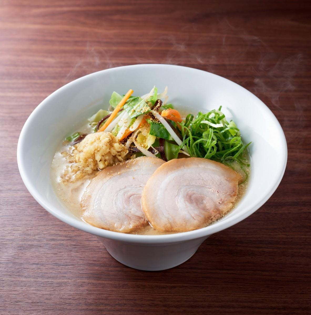 期間限定麺の「味噌白丸」