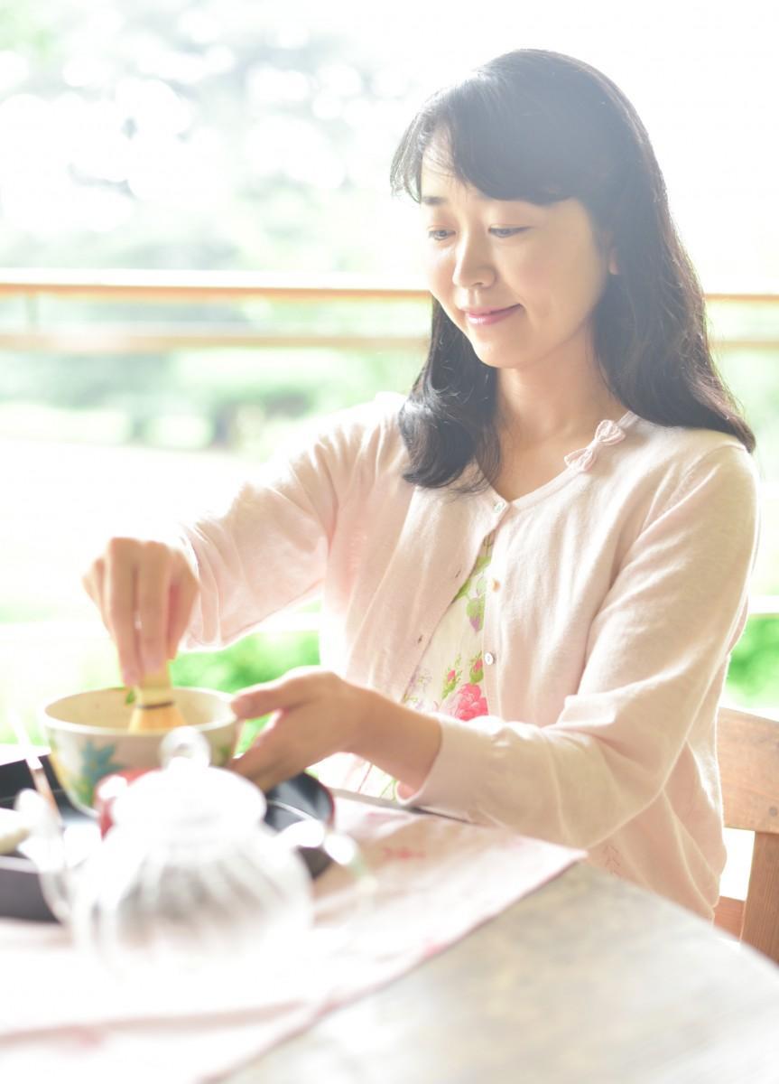 自宅で抹茶のたて方を学べる