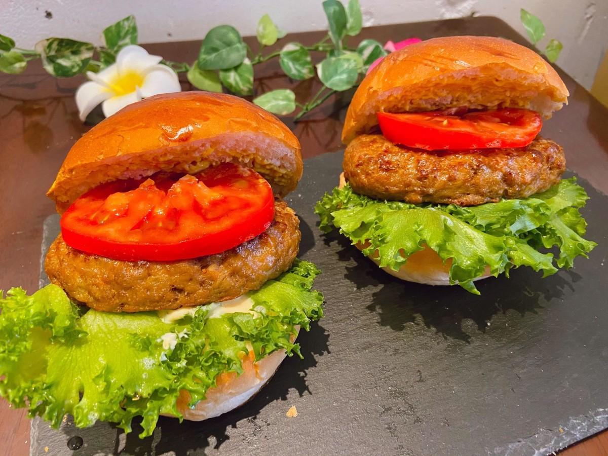 バンズのプロが本気で作ったハンバーガー