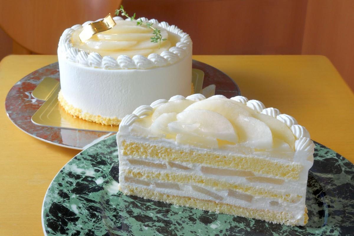 「いばらきの梨・恵水(けいすい)のショートケーキ」