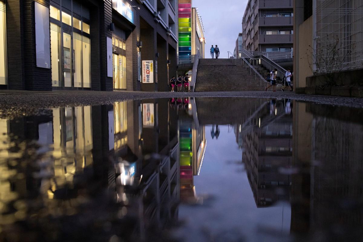 昨年の最優秀賞。撮影者はAmyさん。撮影場所は北山田駅