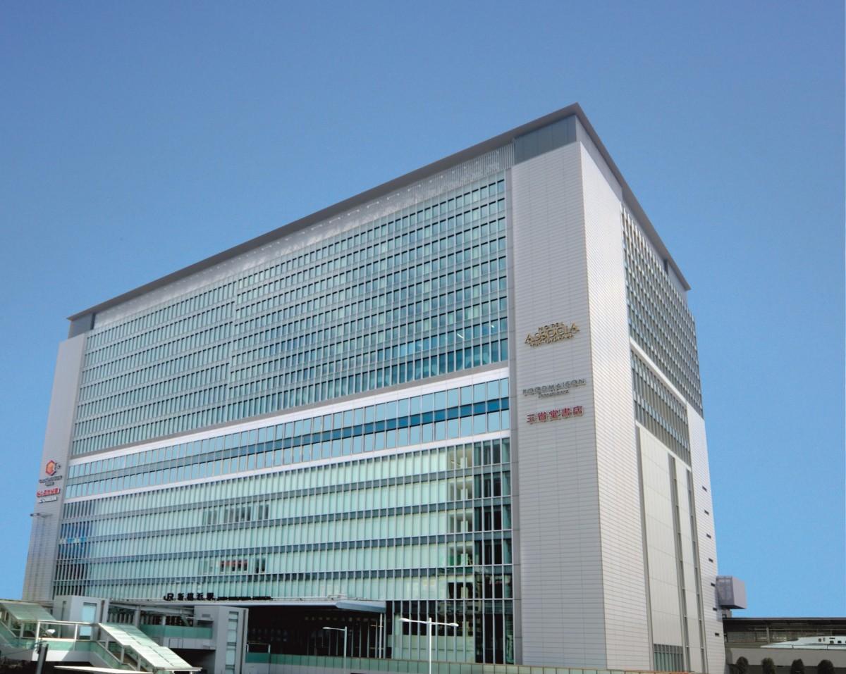 JR新横浜駅直上にあるホテルアソシア新横浜