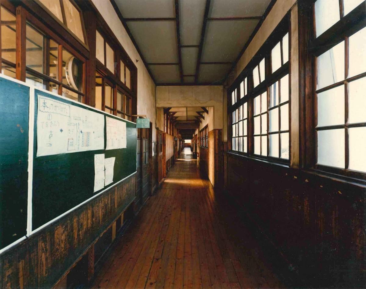 旧山下小学校の木造校舎