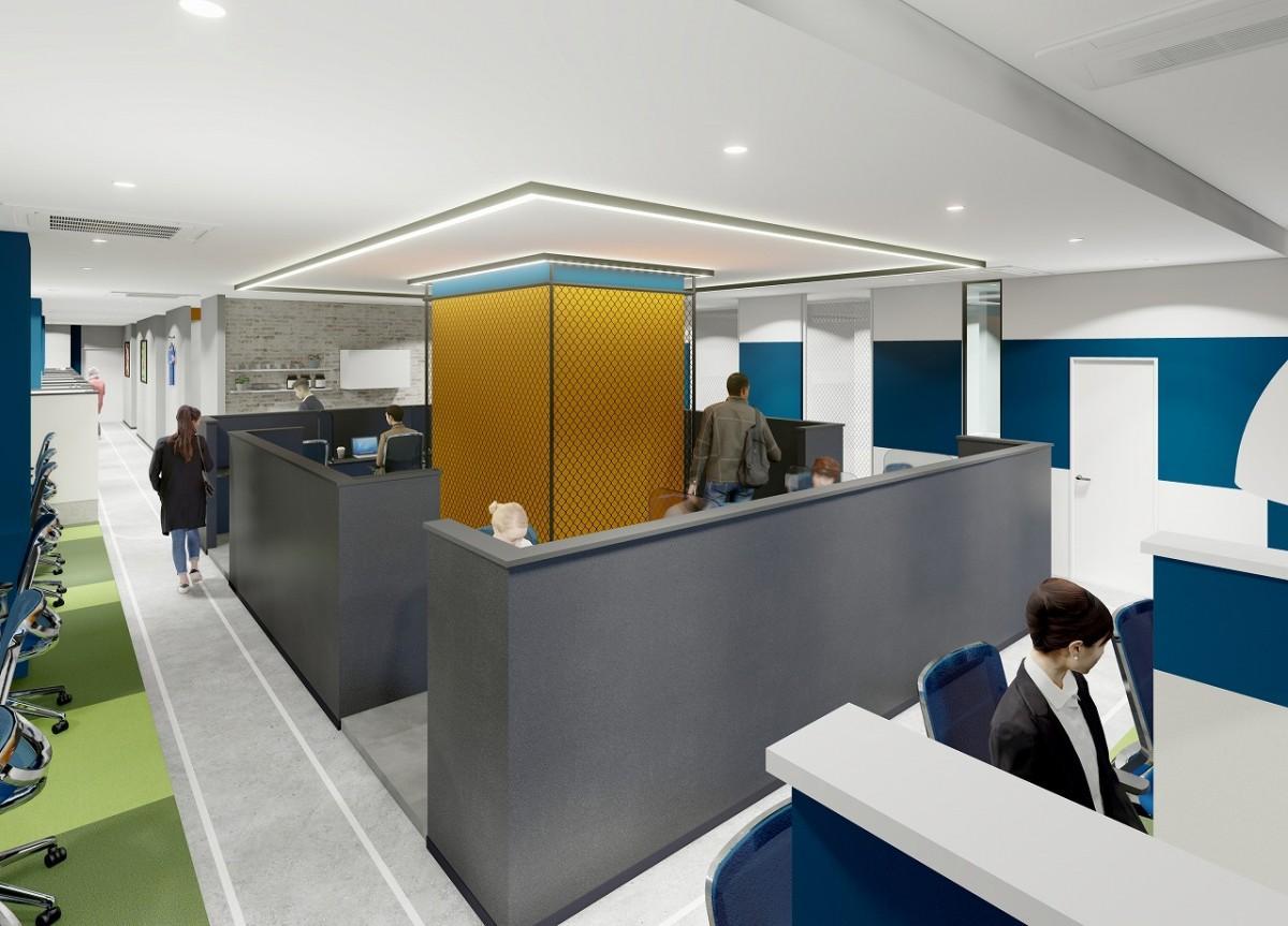 オフィス内のイメージ