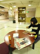 小倉魚町銀天街に「同潤会青山アパート」再現-「リノベの記憶を展示」