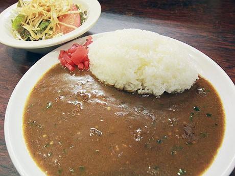タイ産の唐辛子で辛味を増した「辛口悪魔カレー」(650円)