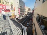 小倉・魚町のアーケード上で「まち歩き」-「空中散歩」800メートル