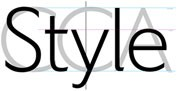 Windows標準フォントの「メイリオ」の作者でも知られる河野英一さんがデザインした「CCA Art Sans」
