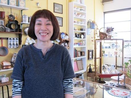 笑顔が印象的な福田さん。