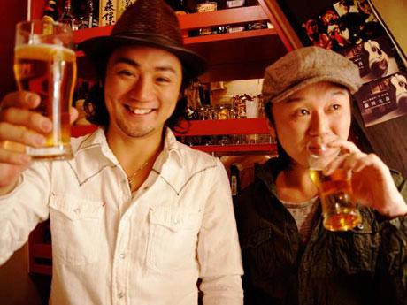 出演する「DrunK!」のKAZYAさんと藤田大吾さん
