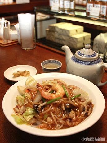 9月14日まで「中華丼」(1,100円)を600円で提供する