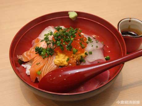 「海鮮丼 千」(980円)