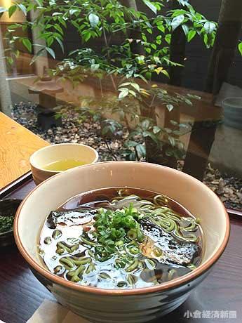 にしんそばは「魚町店」と「京町店」で提供している。