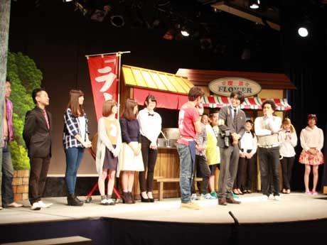今年10月行われた、市民も交えた芝居「小倉よしもとコメディー」