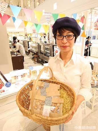「パッケージや販売方法などまだまだ課題は多い」と社長の齊藤久美さん